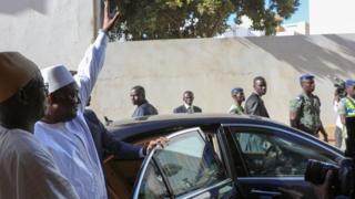 Adama Barrow Senegal'de