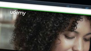 Udemy home page screenshot