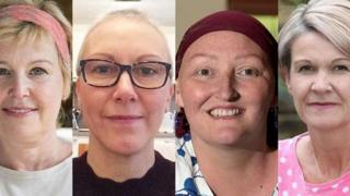 Lesley Stephen, Alison Tait, Lesley Graham and Anne MacLean-Chang
