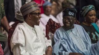 Buhari, Tinubu na nwunye ya