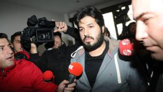 Reza Zarrab in picture through 17 December 2013
