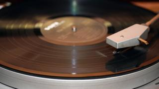 A record player, yesterday