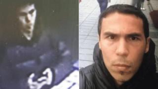 土耳其媒体公布的嫌疑人照片,并称是从警方得到的。
