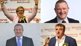 Joanna Cherry, Drew Hendry, Ian Blackford and Tommy Sheppard