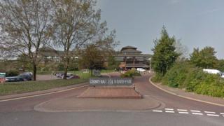 Cardiff council headquarters
