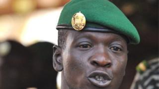 Le capitaine Amadou Sanogo