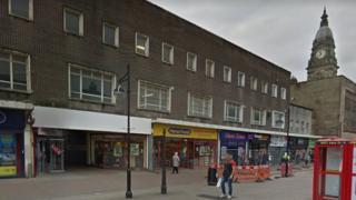 Bolton town centre