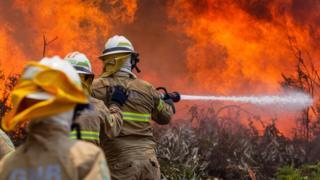 Portugal, kebakaran