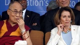 達賴喇嘛,南希·佩洛西