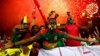 Camerron fans celebrating