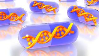 Gene therapy illustration