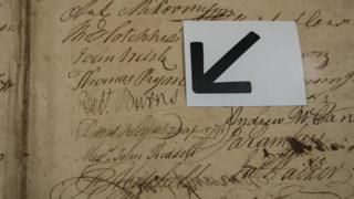 Підпис знаменитого шотландського поета Роберта Бернса
