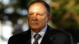 Rais wa Algeria Adelaziz Bouteflika