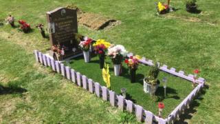 Grave tributes