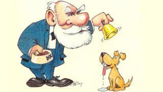 Pavlov con campana y perro