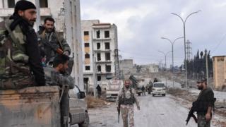 Ingabo za leta ya Syria mu burasirazuba bwa Aleppo