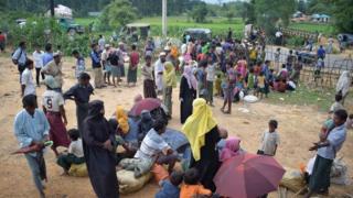Bangladeş sınırındaki Arakan Müslümanları
