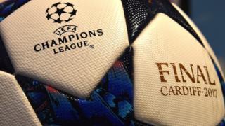 Balón de la final de la Liga de Campeones
