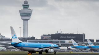 View of Schiphol, file pic