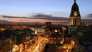Leeds Headrow and Town Hall