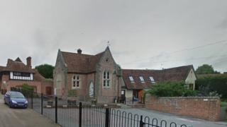 Chilham St Mary's school, near Canterbury in Kent