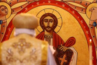 Siku ya Ijumaa, mkuu wa Kanisa la Coptic, Papa Tawardros II, aliongoza misa ya asubuhi katika Kanisa la St Mina huko Sydney, Australia. Nchi hiyo ni nyumbani kwa jamii ya tatu kubwa zaidi ya waumini wa Coptic nje ya Misri.