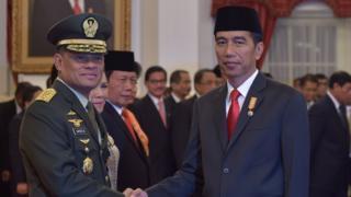 Gatot Nurmantyo, Presiden Jokowi