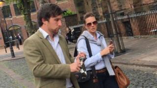 Thomas Wilkinson-Dover leaving Carlisle Crown Court