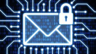 Secure email illustration