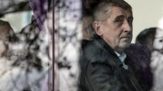 Andrej Babis, the leader of the ANO movement