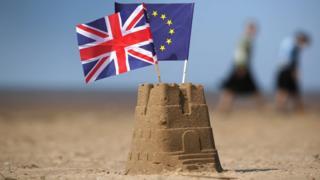 ธงสหราชอาณาจักรและอียู