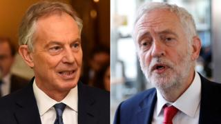 """Image copyright Reuters A former Labour chief whip has urged Jeremy Corbyn to """"reflect"""" on Tony Blair's approach when party leader by ruling out the de-selection of MPs. Baroness Hilary Armstrong told the BBC Mr Corbyn was """"the greatest rebel ever"""" as a backbencher but Mr Blair was reluctant to discipline him.She said the then prime minister felt that Labour was """"a broad church"""".Amid claims Mr Corbyn's opponents could be forced out, Baroness Armstrong said he needed to show he is """"tolerant"""".Speaking to BBC Radio 4's The Westminster Hour, Baroness Armstrong said she was pleased the Labour party chairman Ian Lavery had said de-selection was not the way forward. But she added: """"I know MPs where basically there is a process of harassment, where at every meeting they are criticised, they are challenged, they are told that they don't represent the people in the room. """"And all this is meant to do is grind them down, is wear them down, and get them to believe they sho.."""