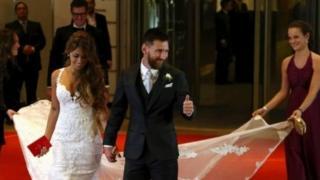 Messi and Antonelo