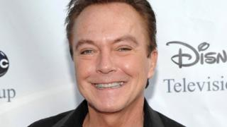"Actor-singer David Cassidy, best known for his role as Keith Partridge on ""The Partridge Family,"" arrives at the ABC Disney Summer press tour party in Pasadena, California on 8 August, 2009"
