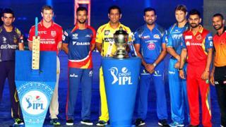 आईपीएल की टीमें
