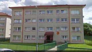 Sidlaw Court in Coatbridge