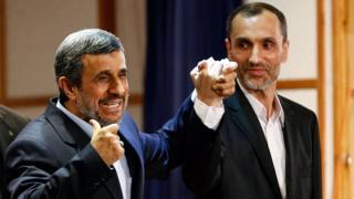 حمید بقایی و محمود احمدینژاد