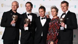 Three Billboards Bafta winners