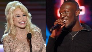 Dolly Parton and Stormzy