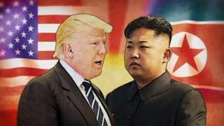 US President Donald Trump and Kim Jong-un of North Korea