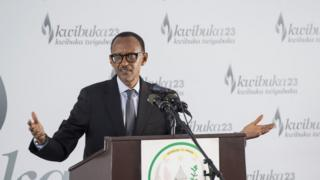Prezida Paul Kagame atangiza icyumweru cyo kwibuka jenoside