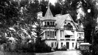 Палац у Зірному. 1920-ті роки