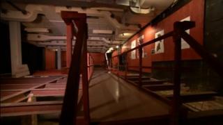 Art gallery inside a Cold War bunker