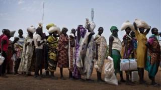 Takiban watu milioni 5.5 nchini Sudan Kusini wanakumbwa na hatari ya hali mbaya ya njaa.