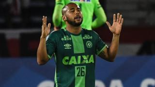 Sergio Manoel from Chapecoense prays during match