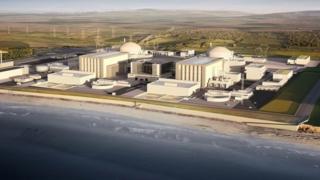 Hinkley Point C nükleer santralinin bitmiş hali bu şekilde resmedildi