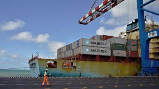 Le port pourra gérer jusqu'à 6 millions de tonnes de sel par an.