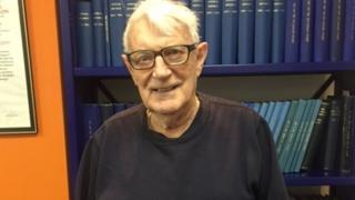 RNLI volunteer, Barry Cox