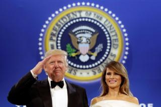 Donald y Melania Trump.
