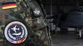 Alman askeri üniforma arması